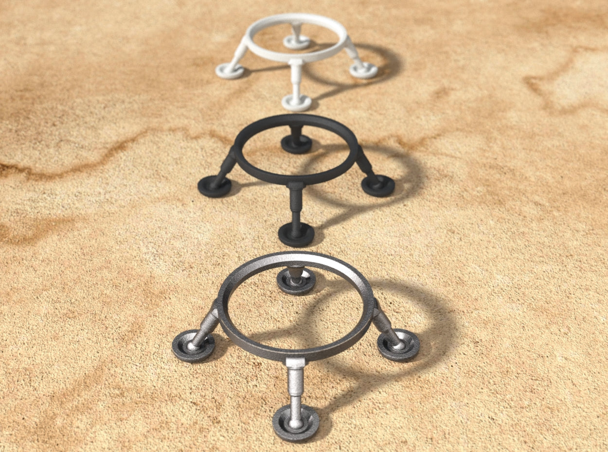 Exclusive Landing Gear Stand for the Retro UFO Ring Bearer Box