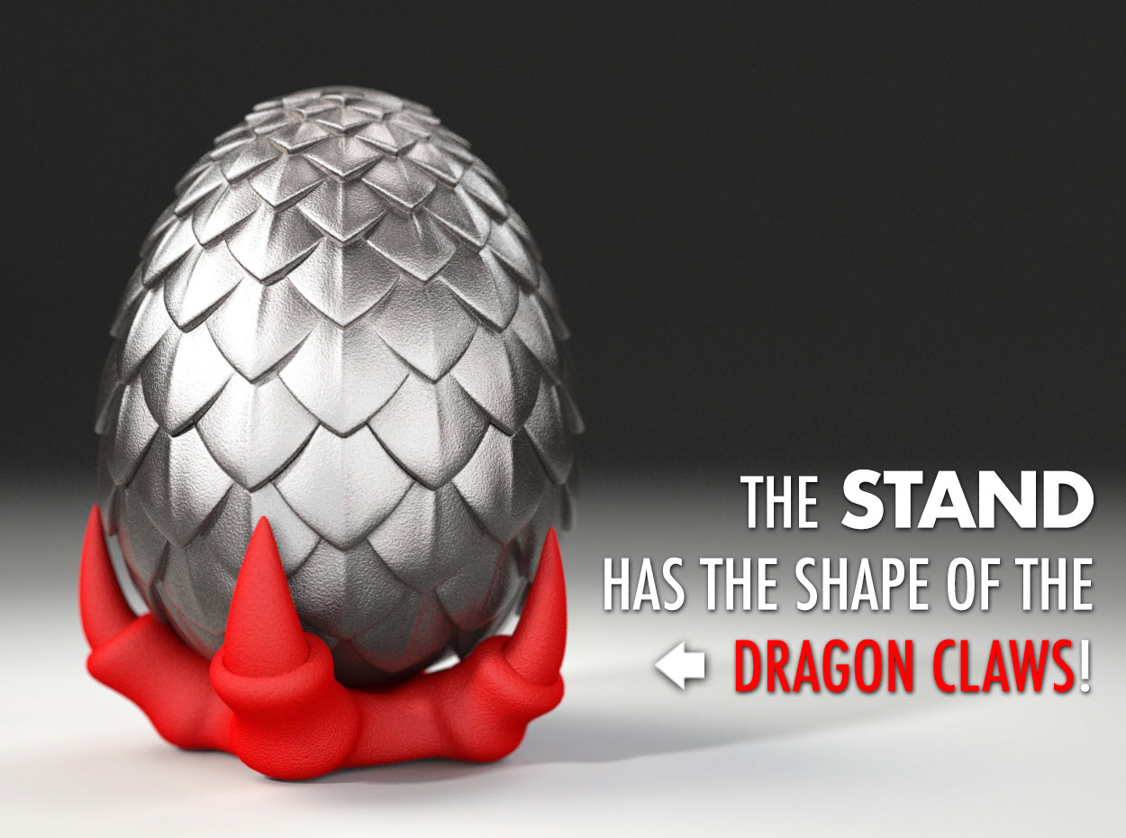 STAND for Dragon Egg Game of Thrones Ring / Jewel Box - For Proposal, Engagement, and Wedding.