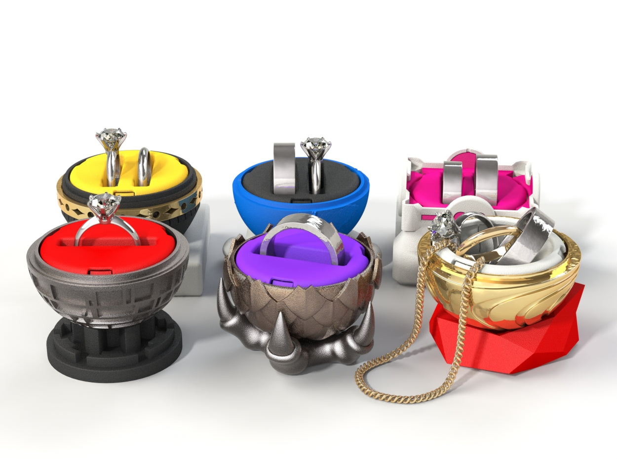 Additional Insert Models for the Nerdy Ring Boxes