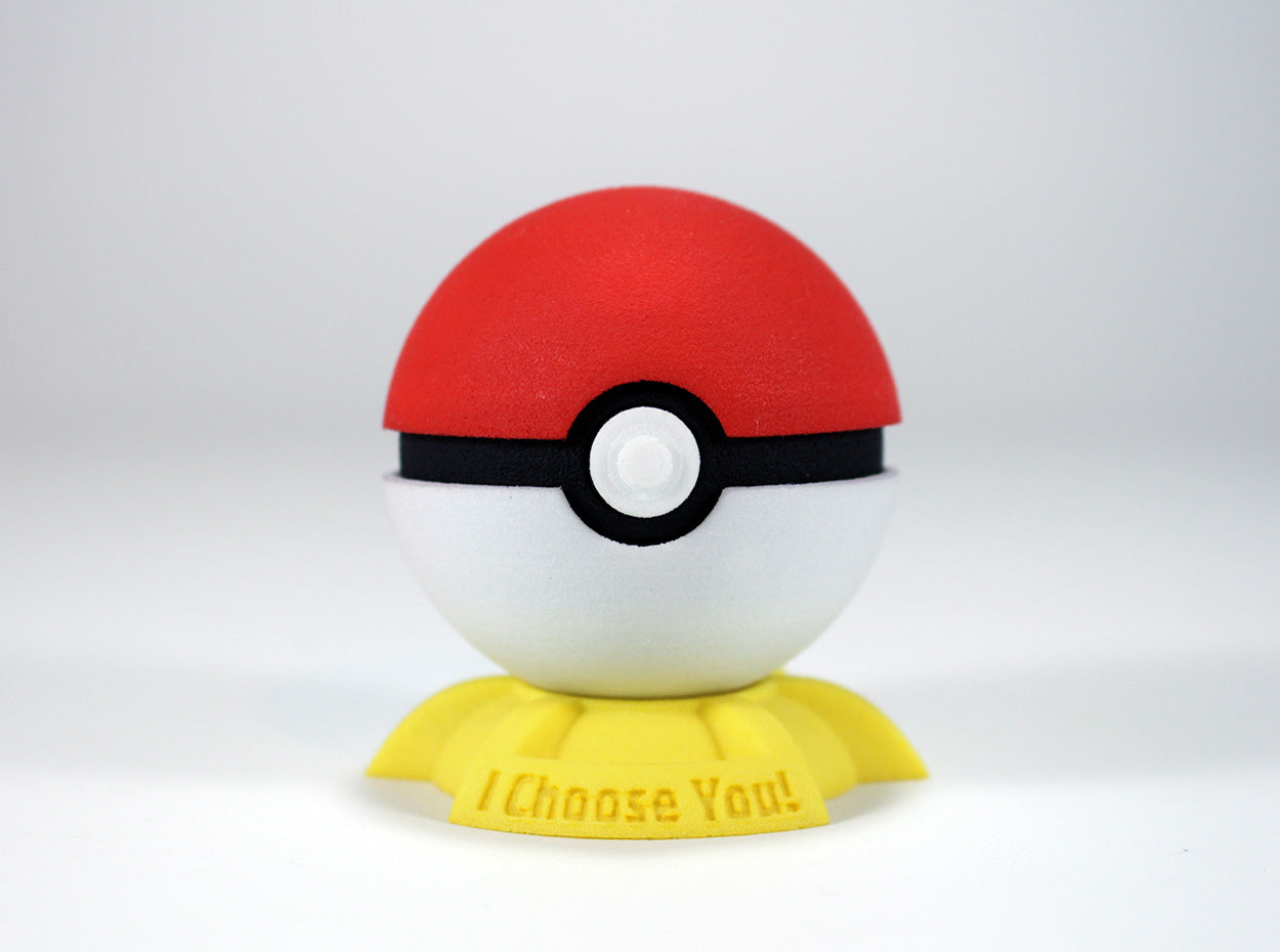Pokeball Pokemon Go Ring Box - For Proposal, Engagement, and Wedding.