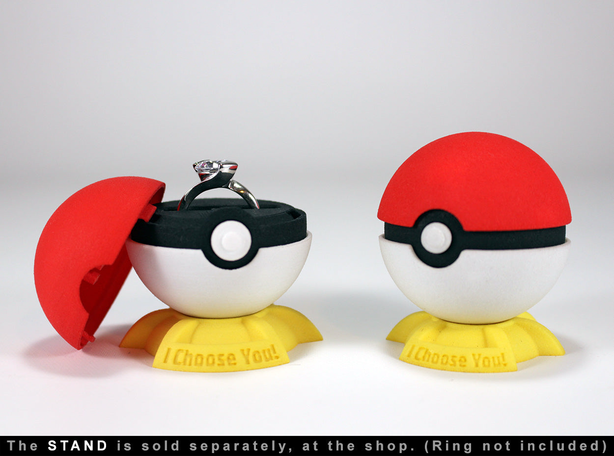 Pokeball Gamer Ring Bearer Box