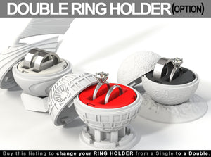 Double Ring Holders Available for the Geek Ring Boxes