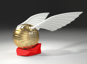Coral Snitch Ring Box Side View