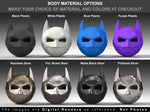 Bat Superhero Style Geek Ring Box Material Options