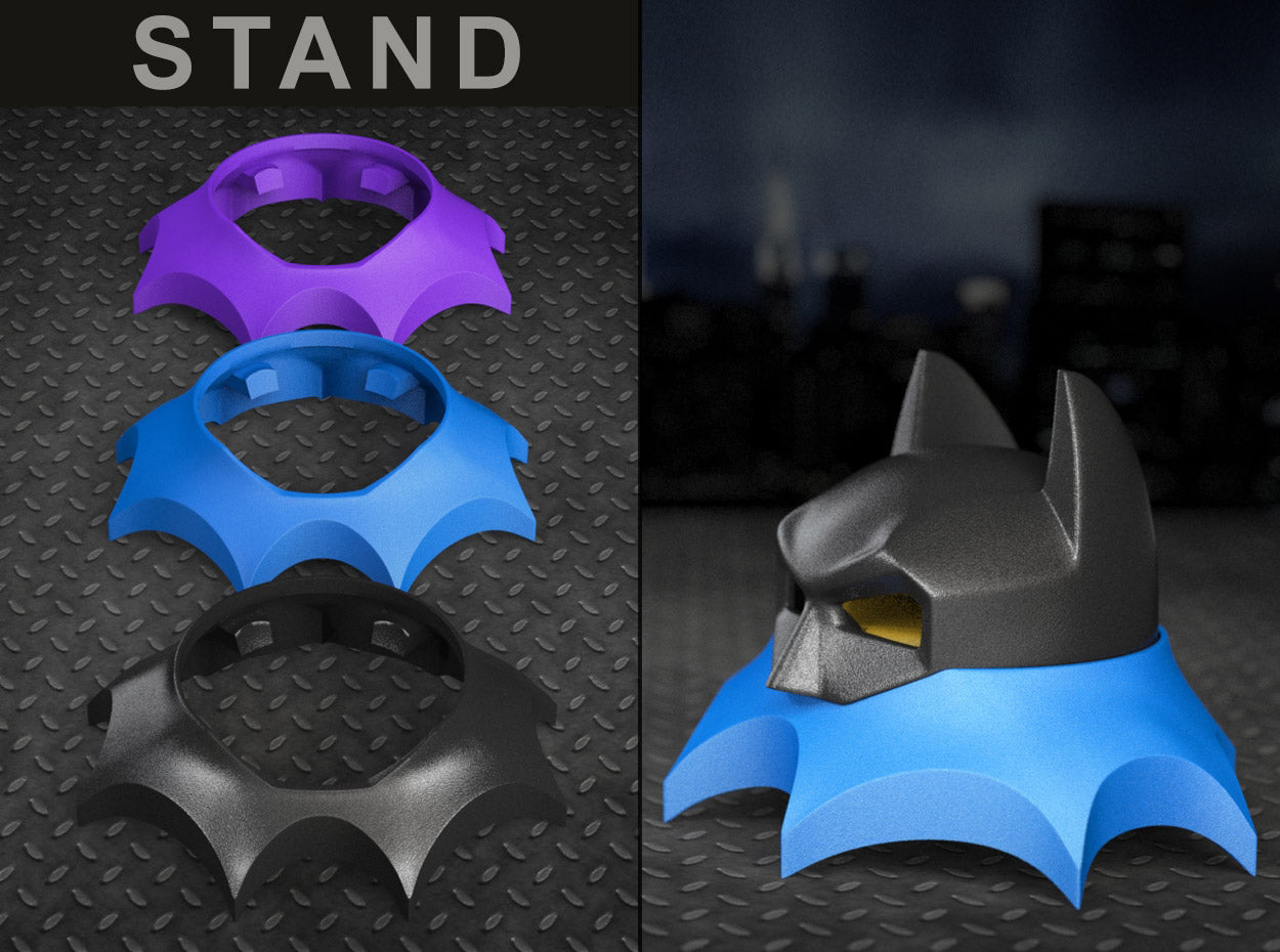BAT STAND for the Bat Superhero Style Geek Ring Box