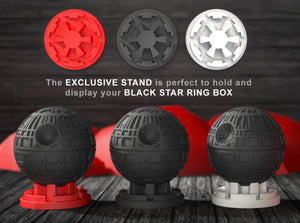 Exclusive Stand for the Black Star Nerdy Ring Box