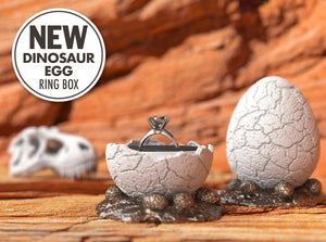 Dinosaur Egg Jurassic Geek Ring Box