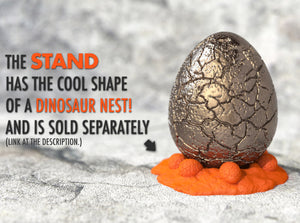 Exclusive Nest Stand for the Dinosaur Egg Nerd Ring Box