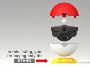 Pokeball Gamer Geeky Ring Box Assembly