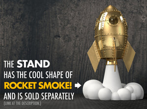 Exclusive Smoke Stand for the Love Rocket Nerd Ring Box