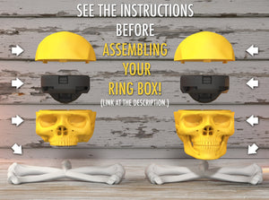 Basic and Full Skull Hard Core Ring Boxes Assembly