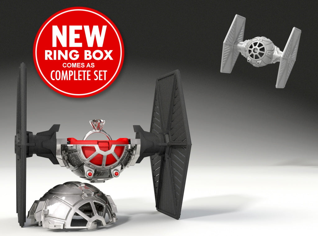 Star Fighter Geek Ring Box