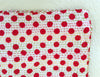 Polka Dot Kantha Single Quilt - Red & White