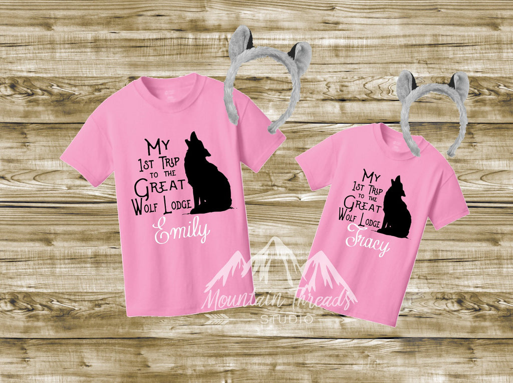 95e6aea0 FAST SHIPPING Great Wolf Lodge Family Shirts Wolf Lodge Custom Family  Vacation Shirts Wolf Shirt Waterpark