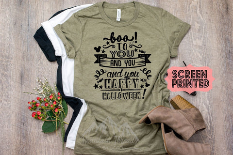 601fa8380 Super FAST SHIPPING Disney Halloween Shirt Mickey's Not so Scary Halloween  Shirt Boo to you Shirt