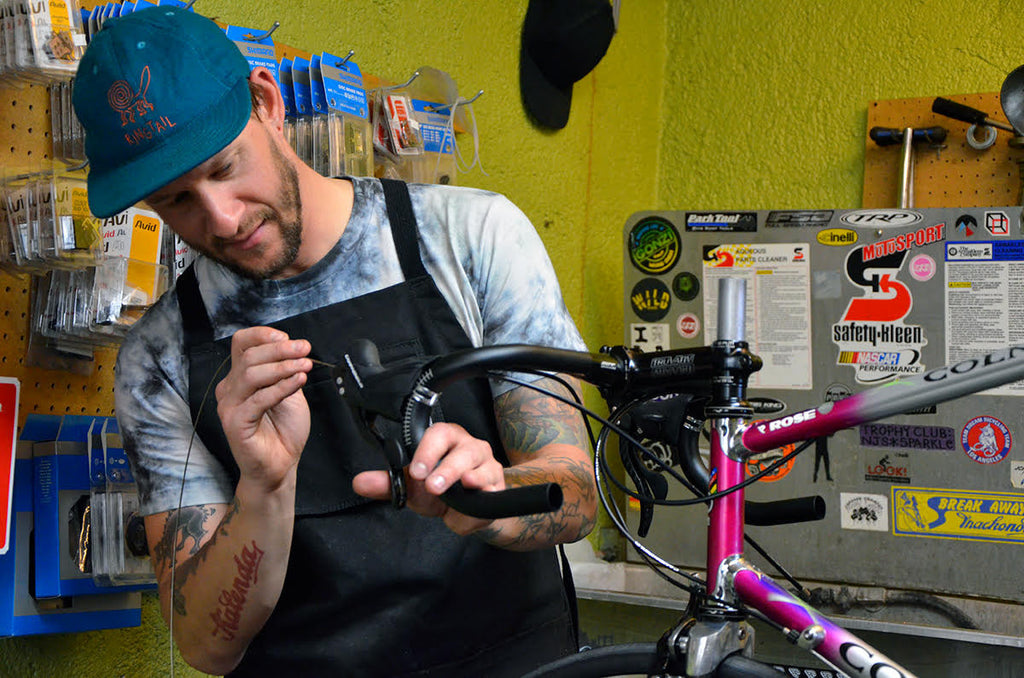 Matt's Bike Build Part 3: Giddy Up to Golden Saddle