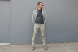 DIGI CAMO _blk label REGULAR TROUSERS