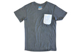 COTTON / MODAL® S/S pocket! crew tee