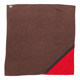 _blk label 100% raw silk NECKERCHIEF