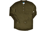 COTTON / MODAL® L/S Henley with woven pocket and cuffs