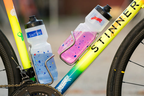 swrve x Team Dream SPLATTER water bottles