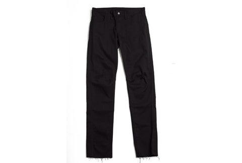 US-made cotton REGULAR TROUSERS