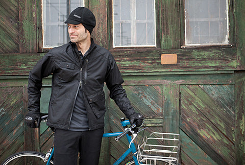wax cotton CYCLING JACKET