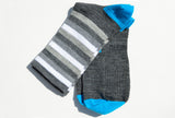 merino striped socks