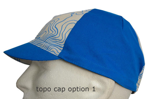 TOPO MAP cotton CAPS