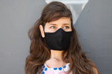 BLACK summer cotton MASK
