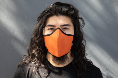 LONG summer cotton MASK
