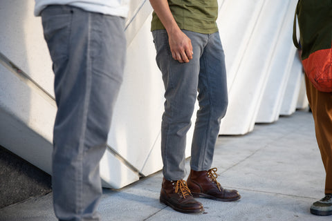 NEW!! grey wash CORDURA® slim jeans