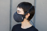 INDIGO cotton/linen denim MASK