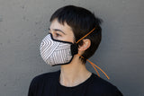 lines cotton MASK
