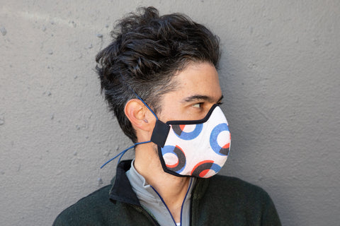 LONG bauhaus cotton MASK