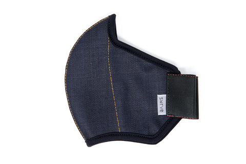 MIDNIGHT cotton denim MASK