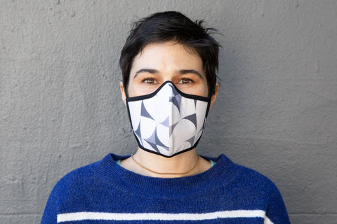modern shapes cotton MASK