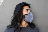 LONG Japanese Block Print cotton MASK