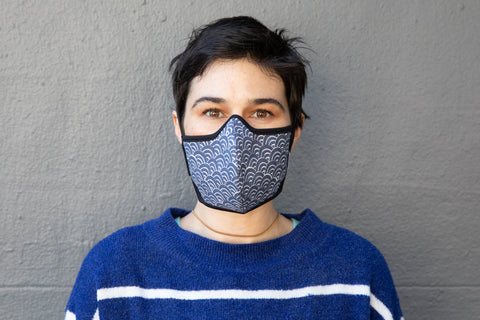 Japanese block print cotton MASK