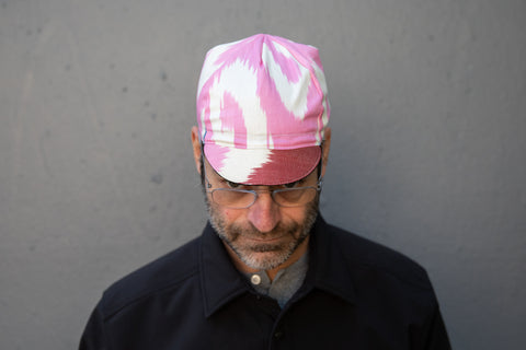PINK FLAMINGO IKAT limited edition Grand Bazaar CAP