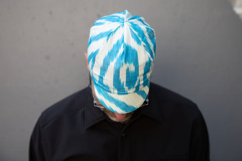 AEGEAN SEA IKAT limited edition Grand Bazaar CAP