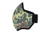 LONG camo cotton MASK