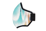 LONG Shibori wing spots cotton MASK