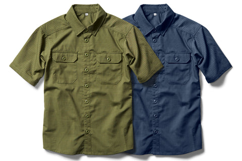 CORDURA® combat wool™ button-up SHORT-SLEEVE SHIRT