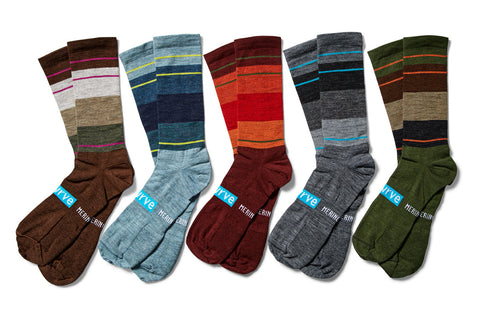 merino block POP socks