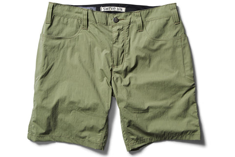 _blk label lightweight TROUSER SHORTS