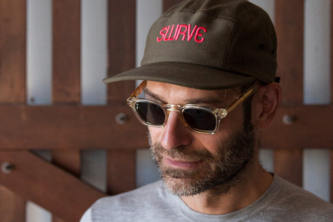 swrve 1968 embroidered cotton CAMP HAT