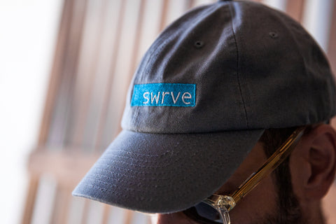 swrve logo embroidered cotton DAD CAP