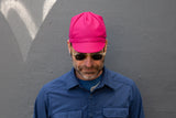 FUCHSIA heavy-weight wool CAP