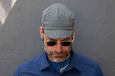 HOUNDSTOOTH midweight wool CAP